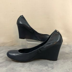 Vince Camuto Leather Wedge  8.5
